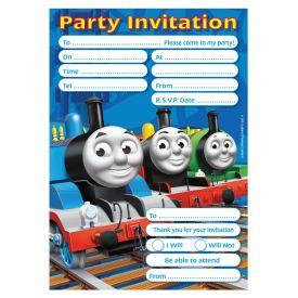 Thomas the Tank Engine- Party  Invitations