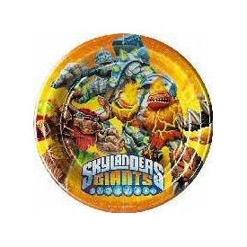 Skylanders Giants Party- Paper Plates