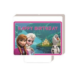 Frozen - Happy Birthday Candle