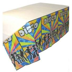 Disco Party Paper Table Cover