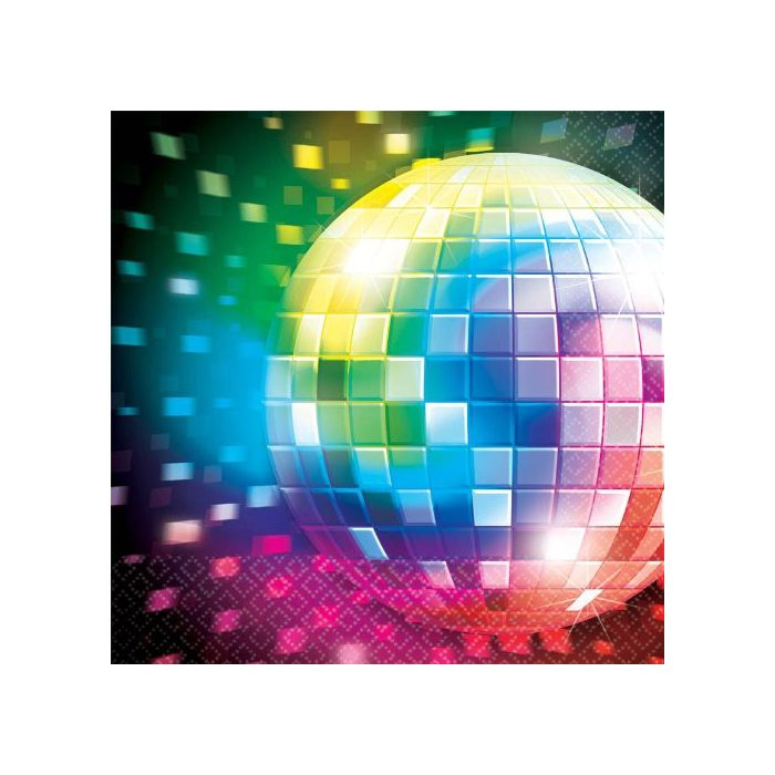 Disco Luncheon Napkins