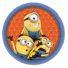 Despicable Me Minions Party Paper Plates