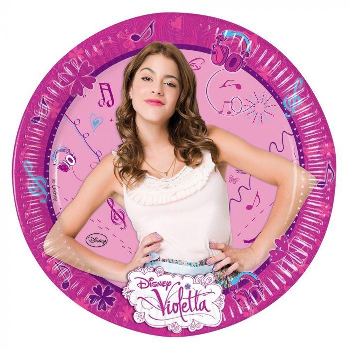 Disney Violetta 23cm  Plates