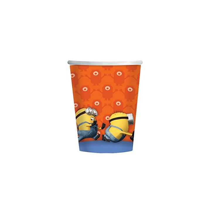 Despicable Me Minions Party Paper Cups x 8