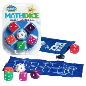 Thinkfun Math Dice Junior (Multicoloured)