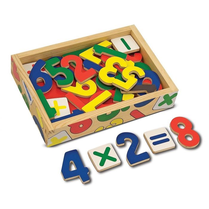 Melissa and Doug - Magnetic Wooden Numbers