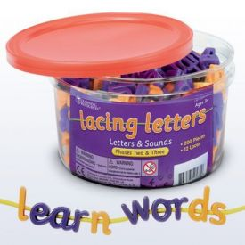 Lacing Letters and Sounds