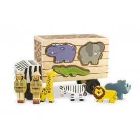Melissa and Doug - Animal Rescue Shape Sorting Truck