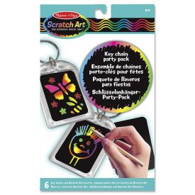 Melissa and Doug Scratch Art - Key Chain