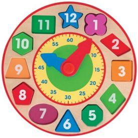 Melissa and Doug - Shape Sorting Clock