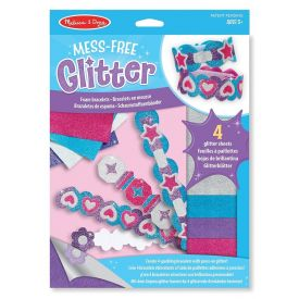 Melissa and Doug - Mess Free Glitter - Foam Bracelets