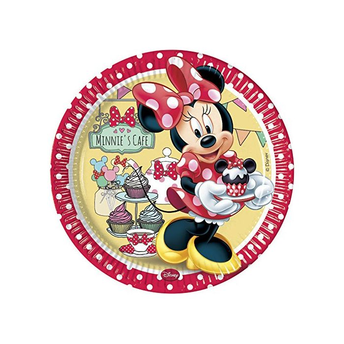 Minnie Mouse Cafe - Plates