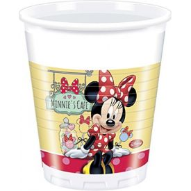 Minnie Mouse Cafe - Cups