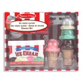 Melissa and Doug - Scoop and Stack Ice Cream playset