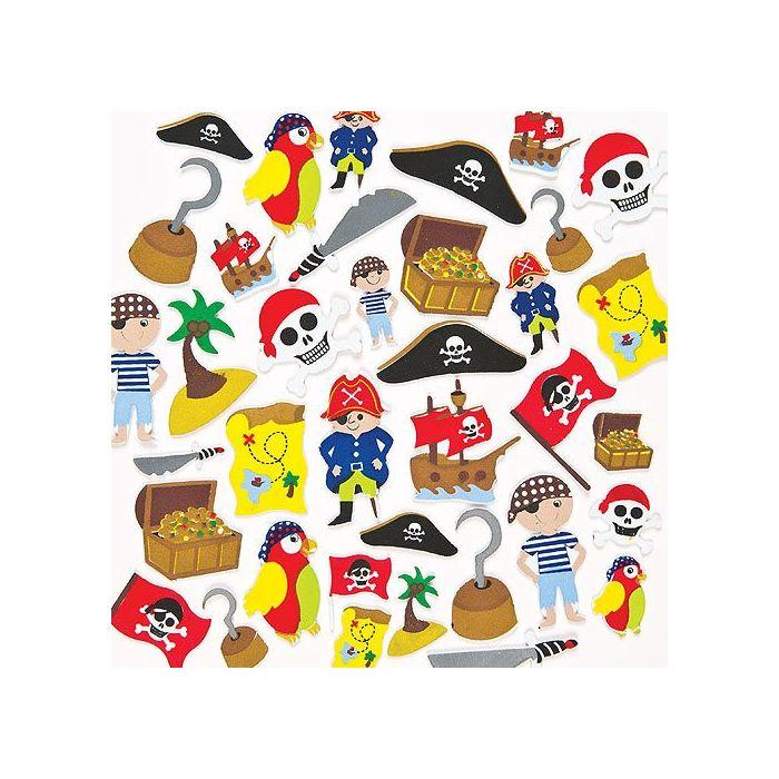 Pirate Foam Stickers