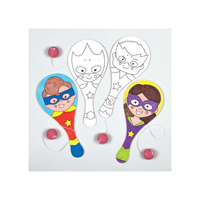 Star Heroes Colour-in Biff Bats
