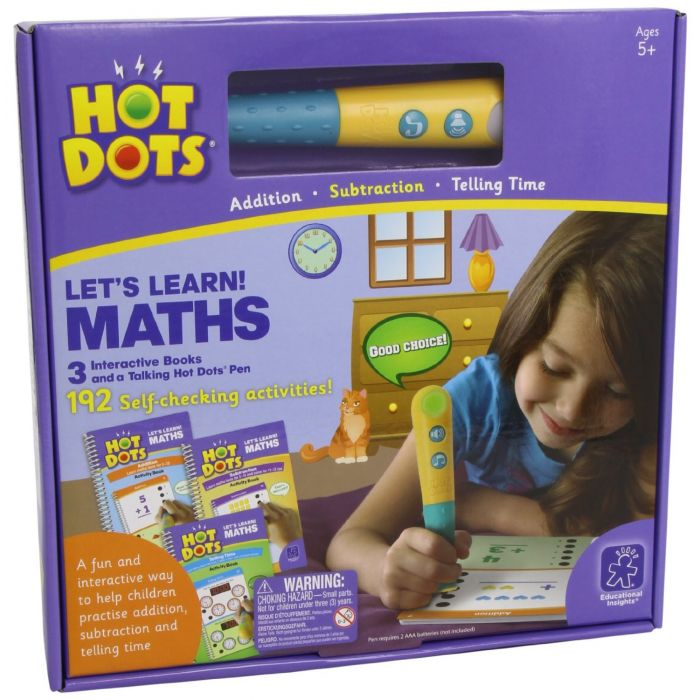Hot Dots - Let's Learn Maths - Interactive Books
